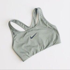 Nike gray racerback sports bra - SMALL